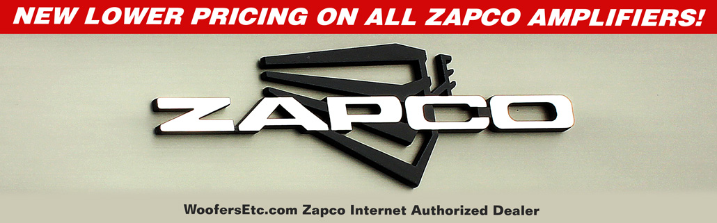 WoofersEtc.com Zapco Internet Authorized Dealer