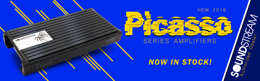 NEW Soundstream Picasso Series Amplifiers!