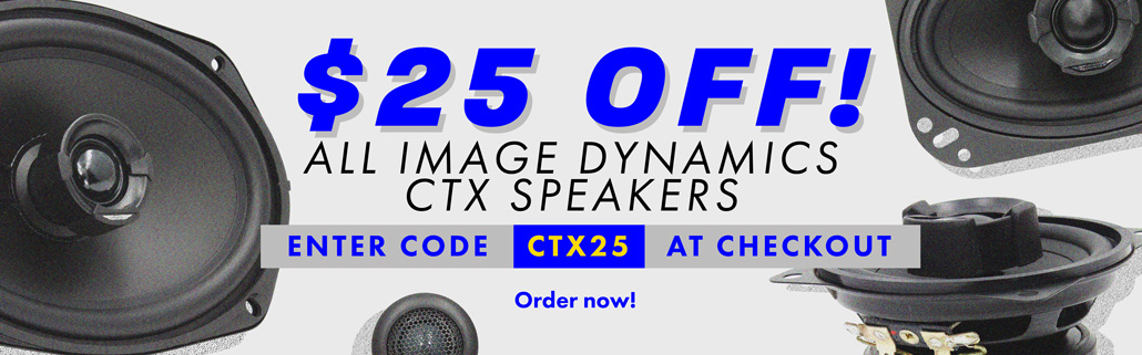 25 Off Image Dynamics CTX Speakers