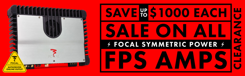 Focal FPS Series Amplifiers Sale!